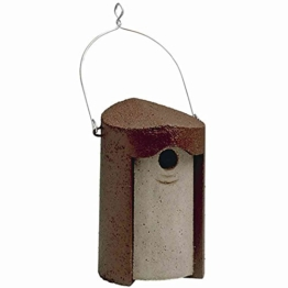 Nisthöhle Einflugloch 26 oder 32 mm aus Holzbeton