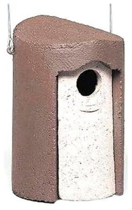 Staren-Nisthöhle zum Aufhängen aus Holzbeton